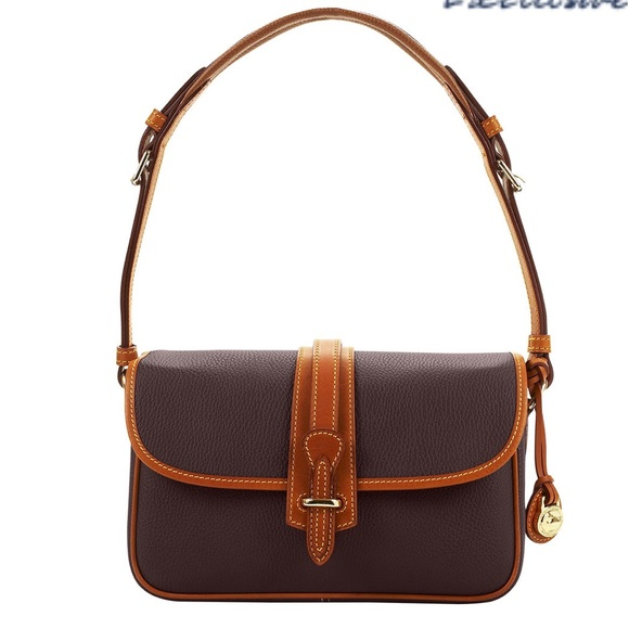 89e8dcb2b31f Dooney   Bourke Equestrian Cross Body Purse VNTG